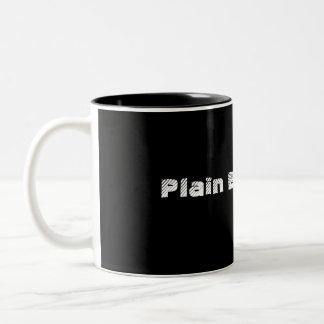 Plain Black Mug