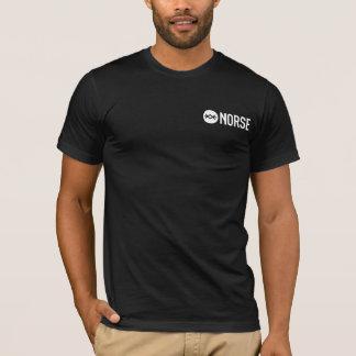Plain black Norse tshirt