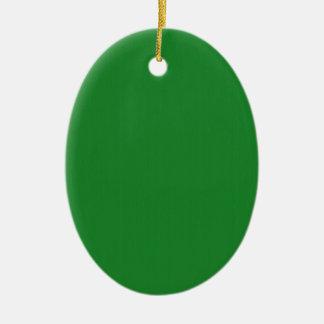 Plain Blank Green DIY template add text photo quot Christmas Ornament