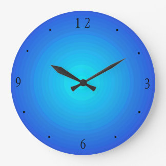 Plain Blue/Aqua > Kitchen Clocks
