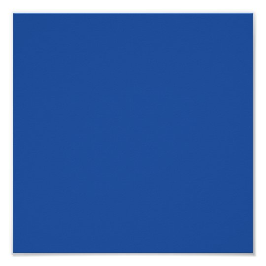 Plain Blue Background. Poster