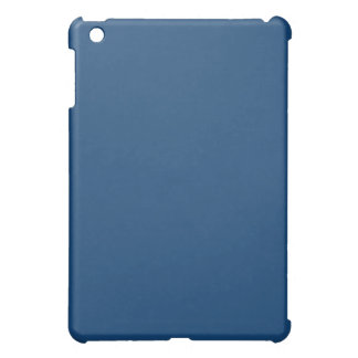 Plain Blue iPad Mini Case