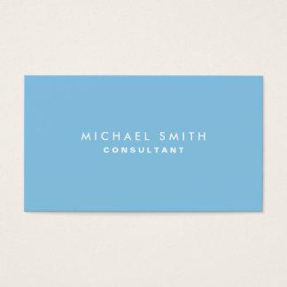Plain Blue Professional Elegant Modern Simple