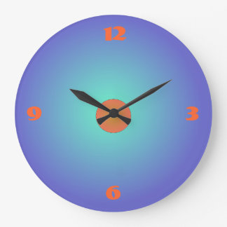 Plain Blue/purple/Aqua > Kitchen Wall Clock