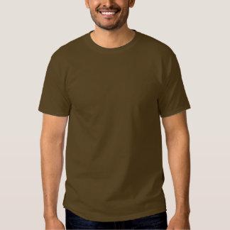 Plain Brown Mens Basic Dark T-Shirt