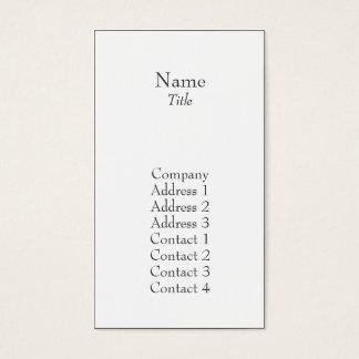Plain - Business Business Card