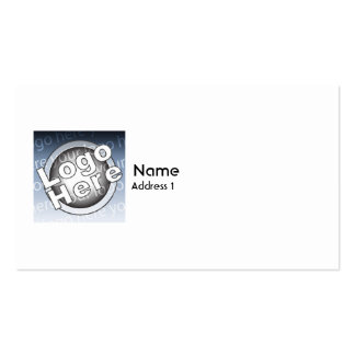 Plain - Business Pack Of Standard Business Cards