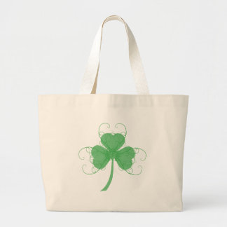 Plain But Fancy Shamrock Products Large Tote Bag
