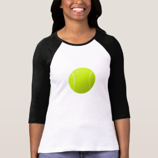 Plain Classic Women's Tennis Ball 3/4 Sleeve Shirt