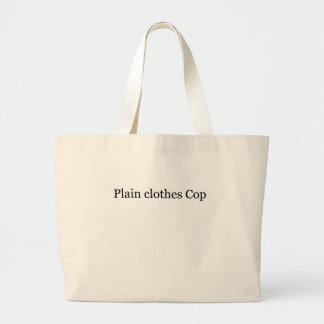 Plain Clothes Cop Tote Bag