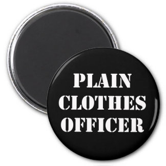 Plain Clothes Officer Fridge Magnets