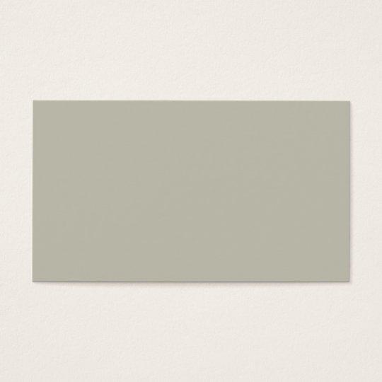 Plain Colour French Grey Business Cards Colours 10