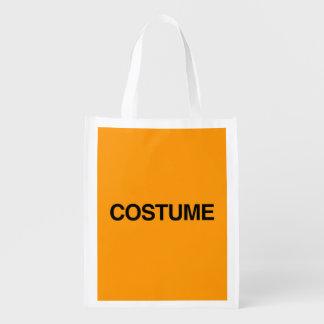 PLAIN COSTUME - Halloween - png Grocery Bag