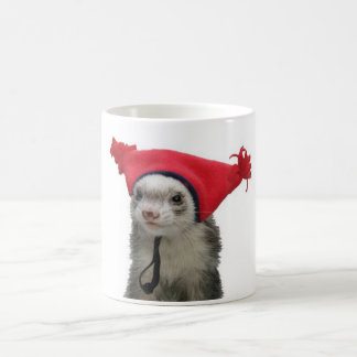 Plain crazy ferret mugs