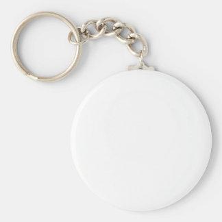 Plain Custom Keychain