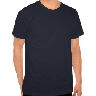 Plain Deep Navy Men's Fitted Crew Neck T-shirt