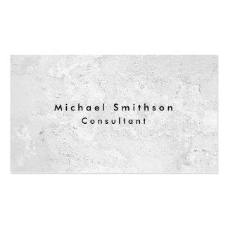 Plain Elegant Modern Grey Wall Texture Pack Of Standard Business Cards