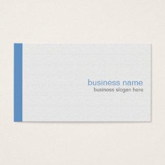 Plain Elegant Modern Simple Blue Stripe on White