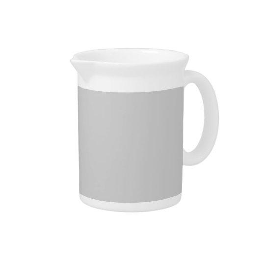 Plain Flamingo Love Grey pitcher