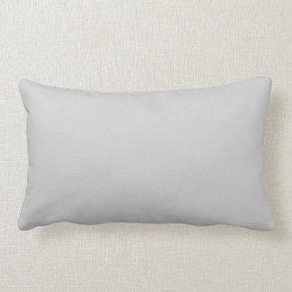 Plain Flamingo Love Grey throw pillow lumbar