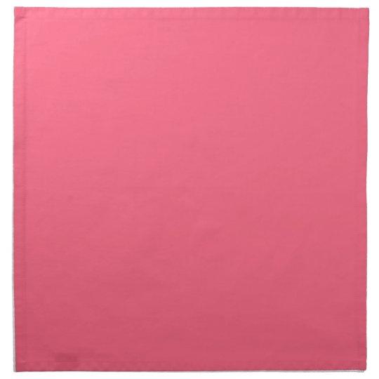 Plain Flamingo Love Hot Pink napkins cloth