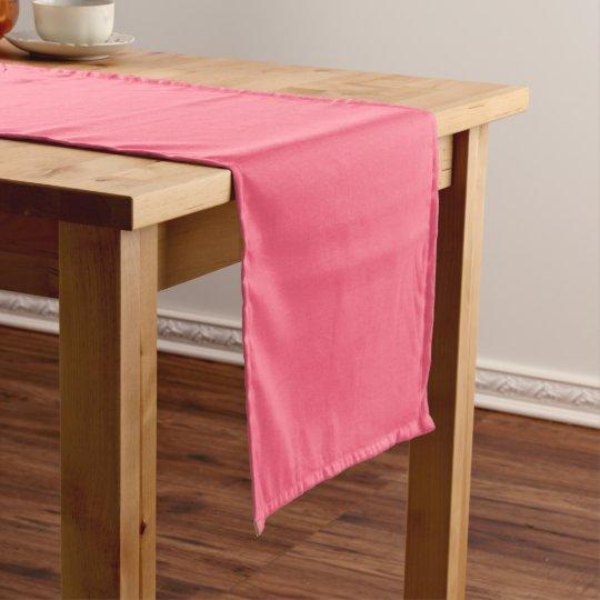 Plain Flamingo Love Hot Pink table runner