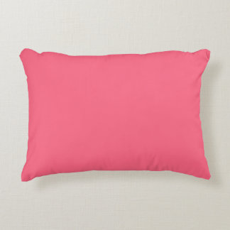 Plain Flamingo Love Hot Pink throw pillow accent