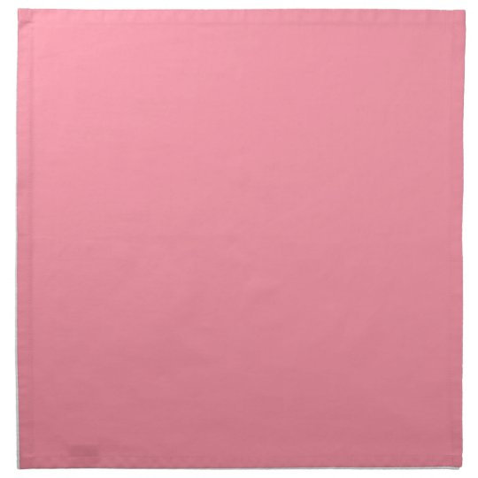 Plain Flamingo Love Pink napkins cloth