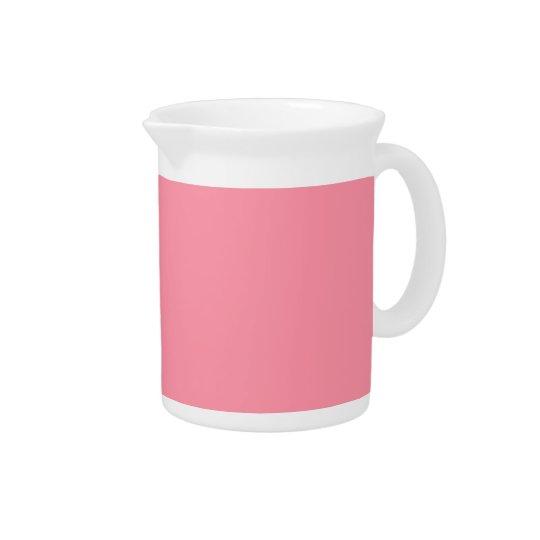 Plain Flamingo Love Pink pitcher