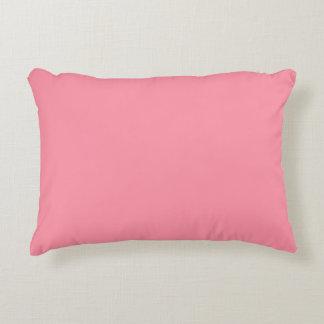 Plain Flamingo Love Pink throw pillow accent