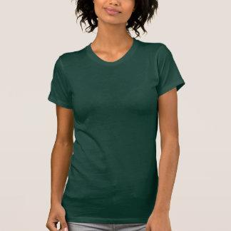 Plain forest green t-shirt for women, ladies