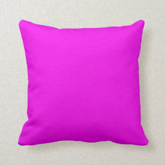 Plain Fuchsia (Pink) background Cushion