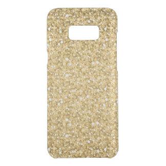Plain Gold Glitter Uncommon Samsung Galaxy S8 Plus Case