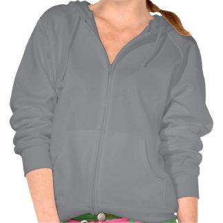 Plain grey hoodie fleece for women ladies