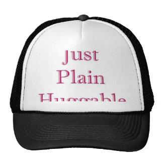 Plain Hug Mesh Hat