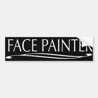 Plain Jain-Face Painter Bumper Stickers
