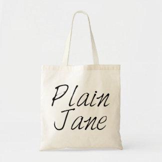 Plain Jane Budget Tote Bag