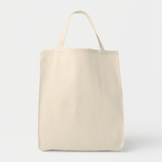 Plain Jane Grocery Tote Bag