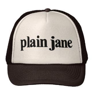 Plain Jane Mesh Hat