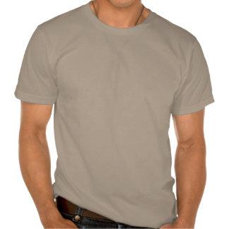 Plain light brown organic t-shirt for men