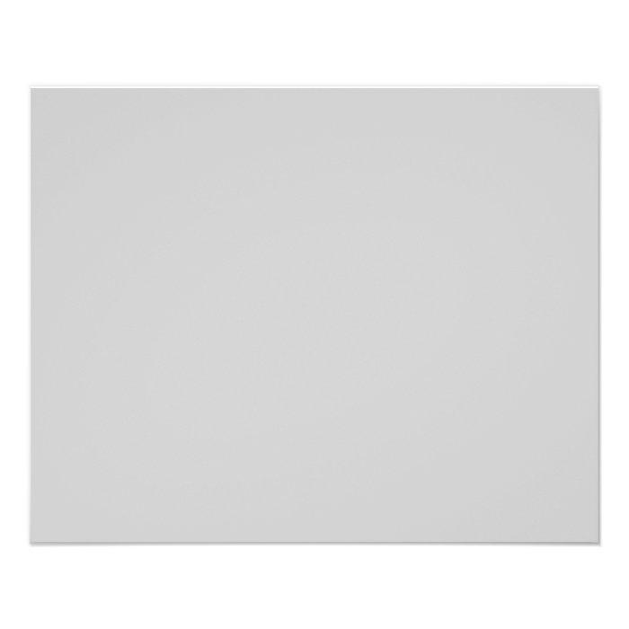 Plain Light Grey Background 11.5 Cm X 14 Cm Flyer