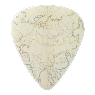 Plain map Asia Acetal Guitar Pick