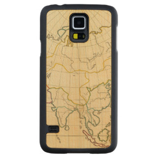 Plain map Asia Carved Maple Galaxy S5 Case