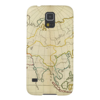Plain map Asia Case For Galaxy S5