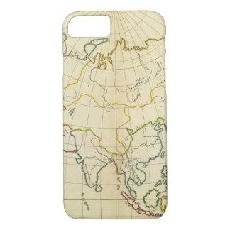 Plain map Asia iPhone 8/7 Case