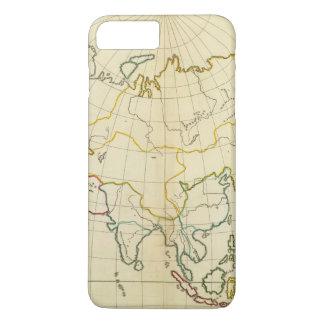 Plain map Asia iPhone 8 Plus/7 Plus Case