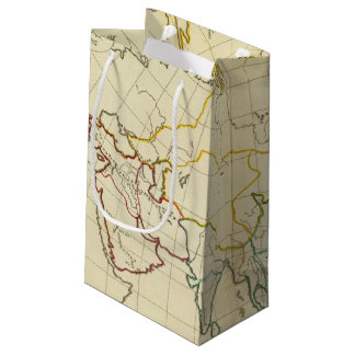 Plain map Asia Small Gift Bag