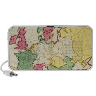 Plain map Europe Speakers