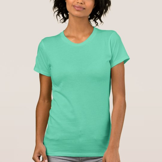 Plain mint green t-shirt for women, ladies