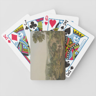Plain of Olympia, plate 6 from Part 1 of 'Views in Bicycle Playing Cards